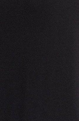 Vince Camuto Colorblock Cotton Blend Crewneck Cardigan