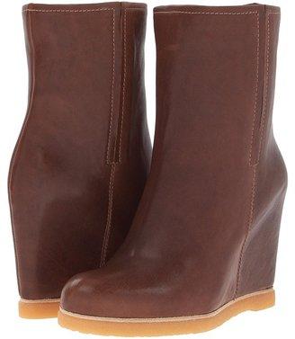 Stuart Weitzman Boot Scout 1 (Black Vecchio Nappa) Women's Shoes