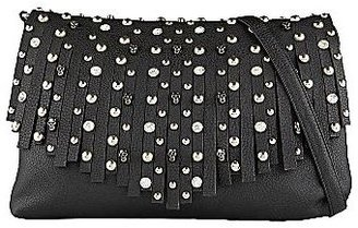 JCPenney Call It SpringTM Evroanie Studded Fringe Clutch