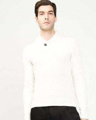 Le Château Cotton Shawl Collar Sweater