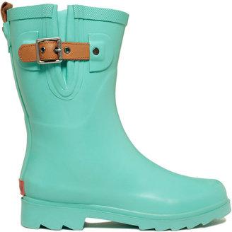 Chooka Women's Top Solid Mid Rain Boots