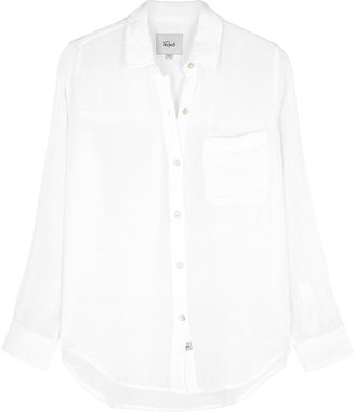 Rails Ellis White Cotton Shirt