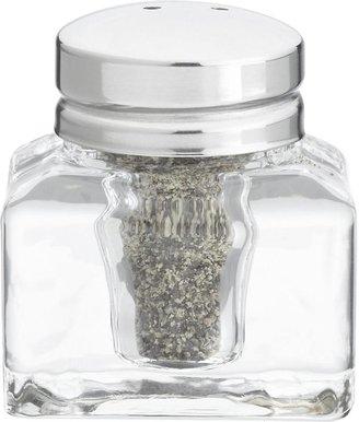 Crate & Barrel Inkwell Individual Salt-Pepper Shaker