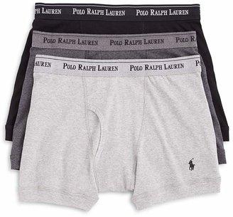 Polo Ralph Lauren Boxer Briefs, Pack of 3 $39.50 thestylecure.com