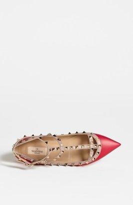 Valentino Women's 'Rockstud' T-Strap Flat
