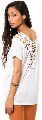 RVCA The Metal Merchant Macrame Top