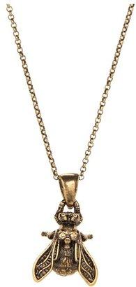 Alexander McQueen Bee Pendant (Topaz) - Jewelry
