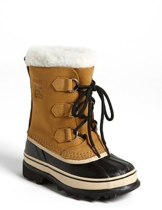 Boy's Sorel Caribou Waterproof Boot $109.95 thestylecure.com