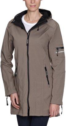 Ilse Jacobsen Women's Damen 3/4 Regenjacke Rain07 Hooded Long Sleeve Raincoat