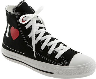 Converse PRODUCT) RED™ 'I Heart Blank' High Top Sneaker (Women)