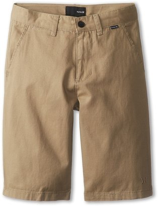 Hurley Kids - One Only Twill Short Boy's Shorts $38 thestylecure.com