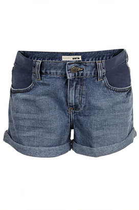 Topshop Maternity vintage denim shorts