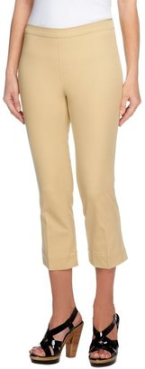 Isaac Mizrahi Live! 24/7 Stretch Petite Pull-On Crop Pants