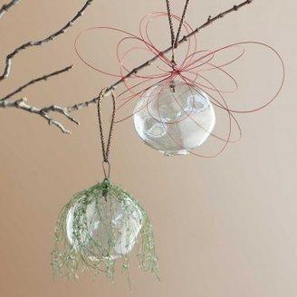 Viva Terra Natural Glass Ornaments