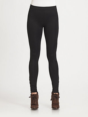 Burberry Corset Jersey Leggings