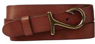 Gap Hook leather belt
