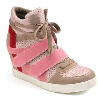 Sacred heart canter wedge sneakers - women