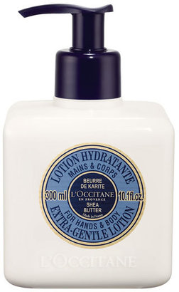 L'Occitane Shea Butter Extra-Gentle Lotion For Hands And Body $26 thestylecure.com