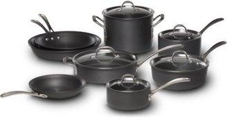 Calphalon 13-pc. Hard-Anodized Aluminum Commercial Hard-Anodized Cookware Set