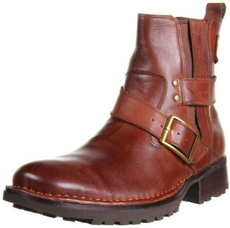 RJ Colt Men's Maxwell Double Gore Strap And Buckle Pull On Boot