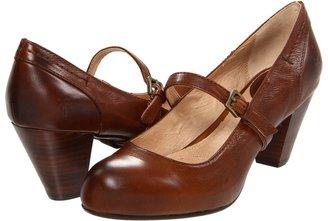 Frye Lois MJ (Cognac Soft Vintage Leather) - Footwear