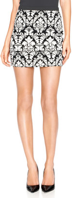 The Limited Forenza Double-Knit Mini Skirt