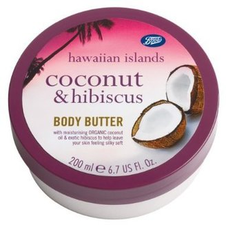 Boots Hawaiian Islands Coconut & Hibiscus Body Butter