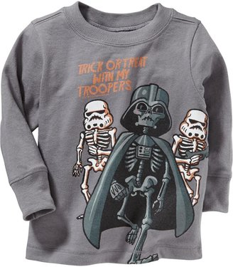 """Star Wars Trick or Treat With My Troopers"""" Tees for Baby"""