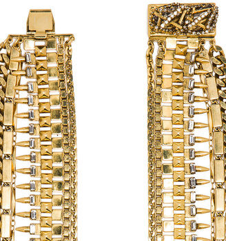 Erickson Beamon Velocity Necklace in Gold