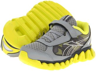 Reebok Kids - Mini Ziglite Rush AC (Toddler) (Flat Grey/Solar Gren/Gravel) - Footwear