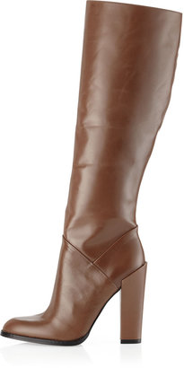 Boutique 9 Feliece Tall Leather Boot, Taupe
