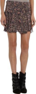Etoile Isabel Marant Bird Printed Skirt