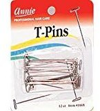 T-Pins for pinning wigs on foam head $6.59 thestylecure.com