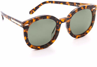 Karen Walker Special Fit Super Duper Strength Sunglasses $280 thestylecure.com