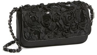 Menbur 'Lassus' Satin Clutch - Black $78 thestylecure.com