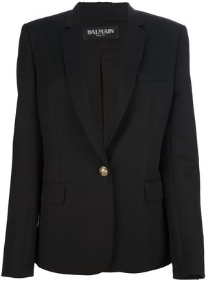 Balmain single button blazer