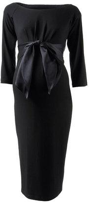 Isabella Oliver Satin Bow Dress