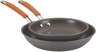 Rachael Ray Cucina Twin-Pack Hard-Anodized Skillet Set