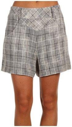L.A.M.B. Linen Plaid Short (Oversized Donegal) - Apparel
