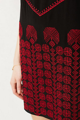 Anthropologie Flamme Tunic Dress