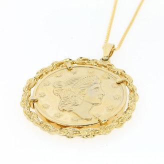 Avon Bicentennial Coin Necklace