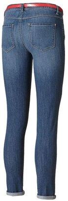 Lauren Conrad cuffed skinny ankle jeans - women's