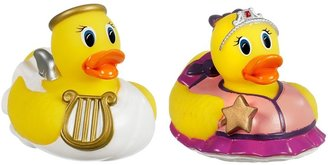 Munchkin White Hot Super Safety Bath Ducky, 2 Pack, Princess and Angel