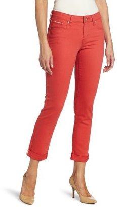 Levi's Women's Mid Rise Skinny Cuffed Jean