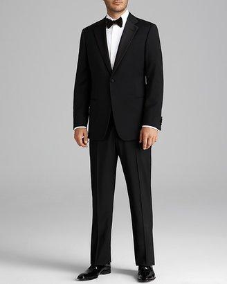 Armani Collezioni Giorgio Notch Lapel Tuxedo Suit - Regular Fit $1,995 thestylecure.com