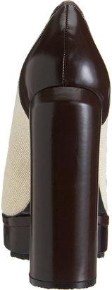 Carven Buckled Loafer Pumps