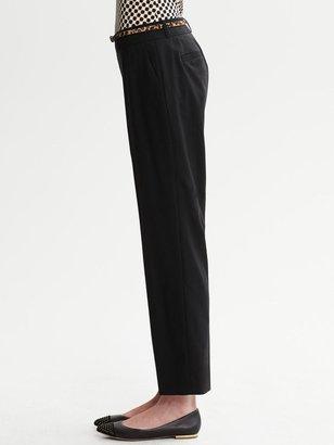 Banana Republic Jackson-Fit Black Lightweight Wool Ankle Pant