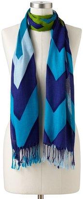 Apt. 9 zigzag pashmina scarf