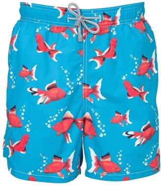 MC2 Saint Barth Goldfish printed swimming shorts