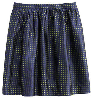 J.Crew Collection sunray silk skirt